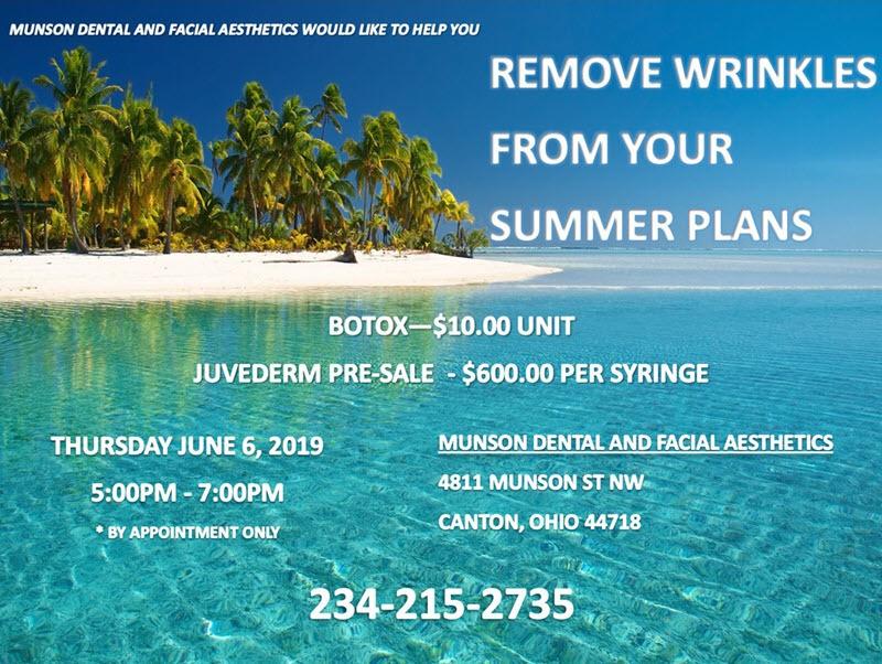 Munson Dental and Facial Aesthetics Summer Event