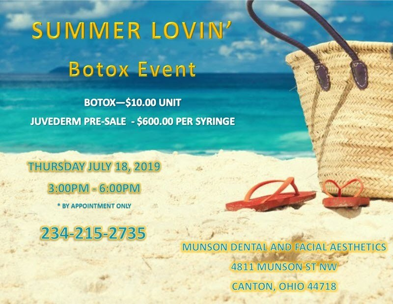 Summer Lovin' Botox Event